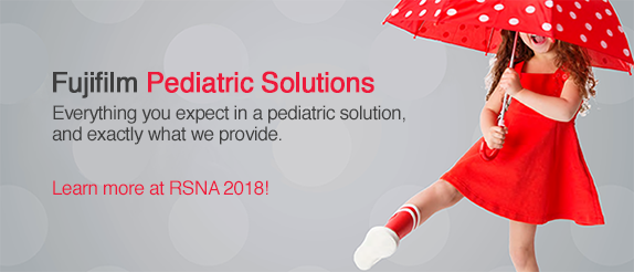 Fujifilm Pediatric Solutions - Everything you expect in a pediatric solution, and exactly what we provide. Learn more at RSNA 2018!
