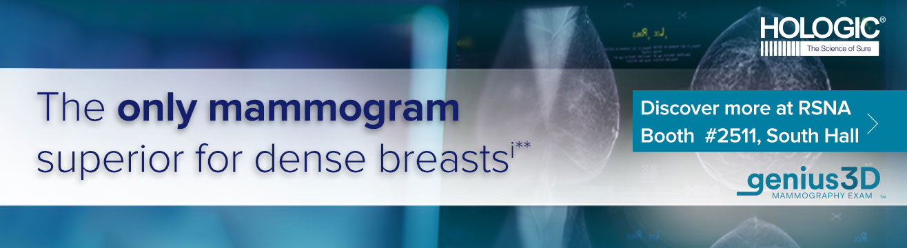 The only mammogram superior for dense breasts