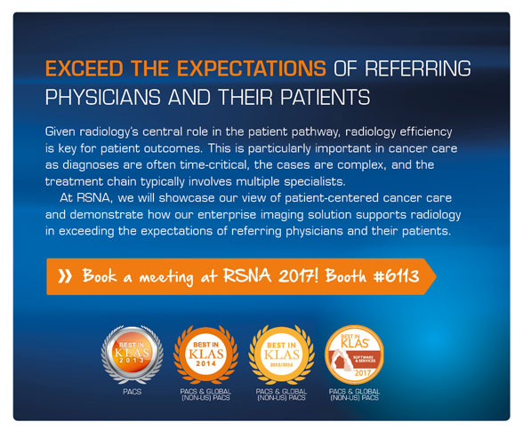 Book a meeting at RSNA 2017